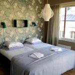 Dubbelrum med två sängar 90 x 200 cm